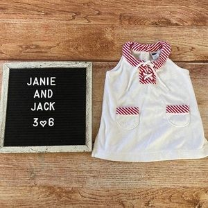 Janie and Jack Swim Cover Up 3-6 Months